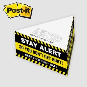 Post-it� Notes Custom Printed Half Triangle Cube Note Pad (3 1/4